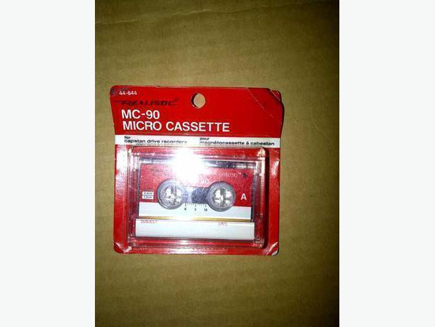 MC-90 Microcassette
