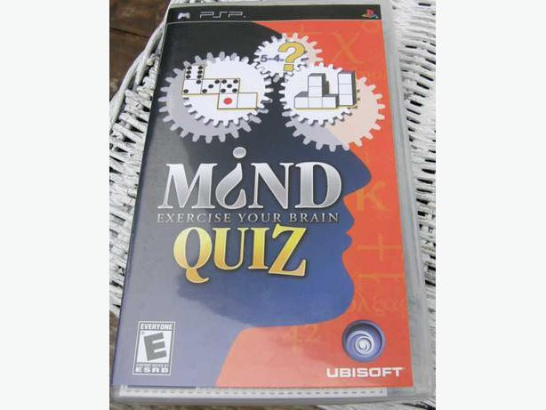 SONY PSP Game MIND QUIZ VGC