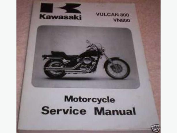 Kawasaki VN800 Vulcan Motorcycle service manual