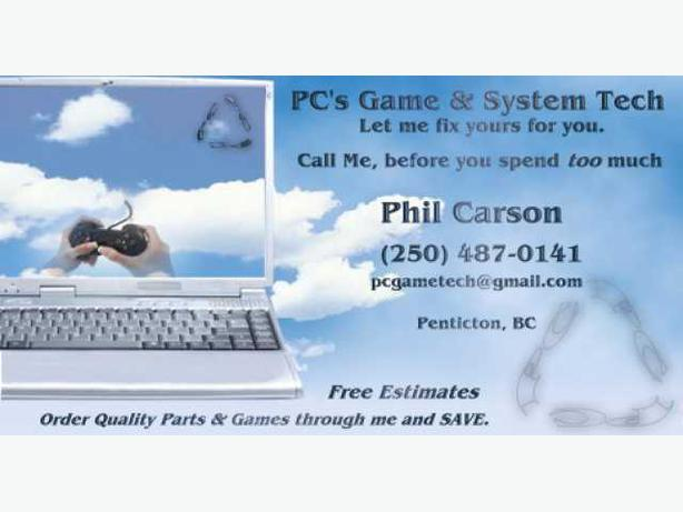 Replay Games/ PCs Game & System Tech... wanna save??   : )