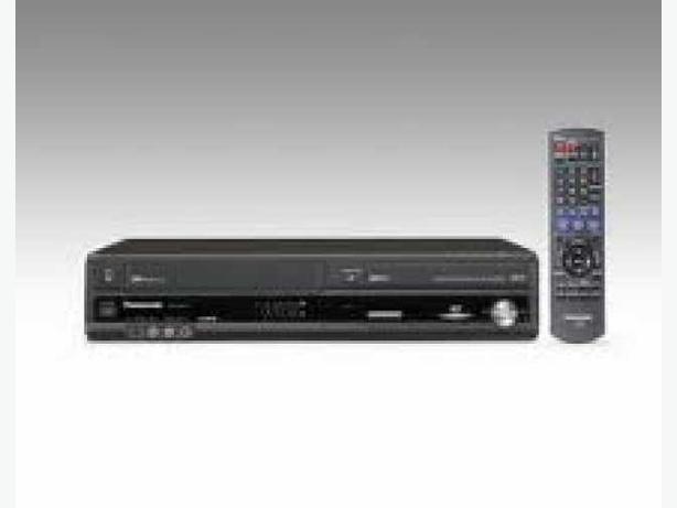 PANASONIC DVD & VHS RECORDER with 1080p Upconversion