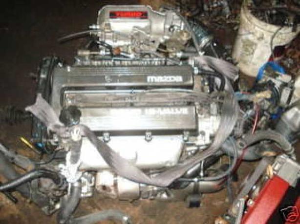 Mazda Bp Turbo Engine 323 Protege Turbo 1 8l Engine Bp
