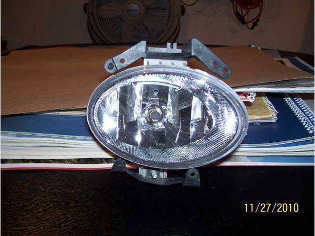 2009 Hyundai Sante Fe right fog light