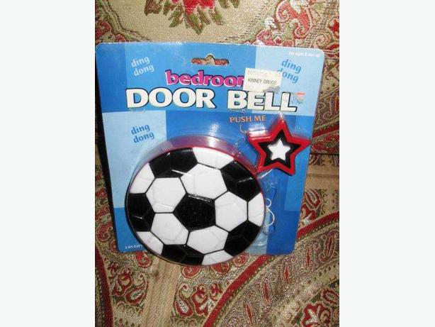 Brand New Talking Football Bedroom Doorbell. Brand New Talking Football Bedroom Doorbell Central Ottawa  inside