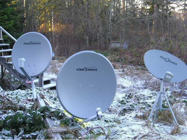 WANTED:Free satellite dishes (any kind)