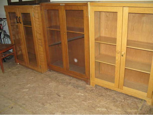 Bookcases with Glass doors $125.00 each