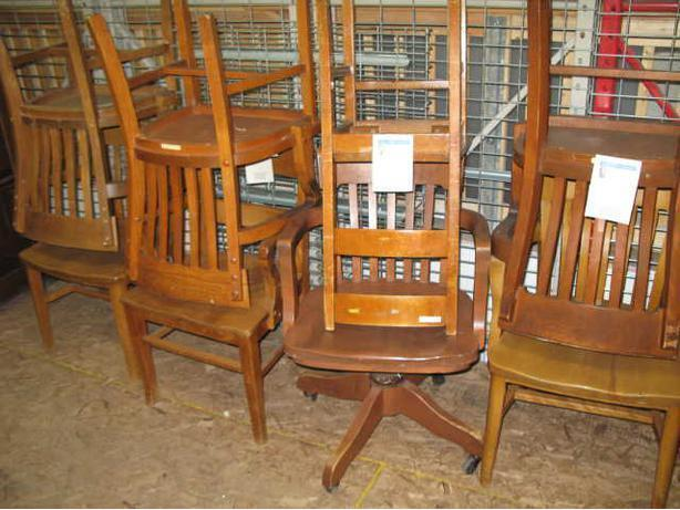 Old Wood Chairs