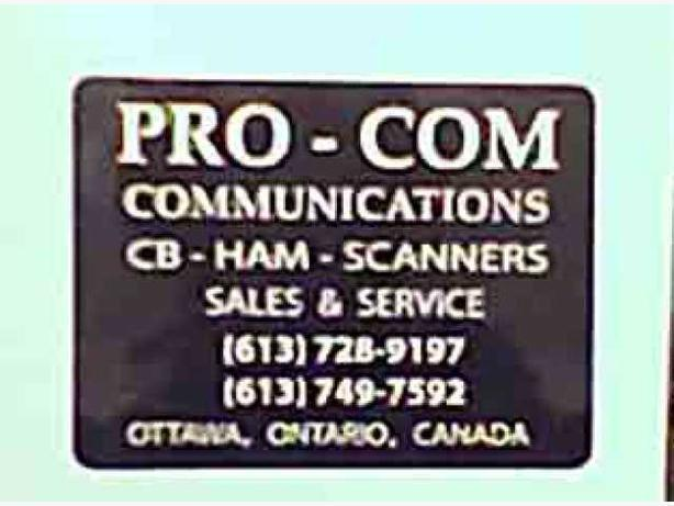 CB RADIO / ProCom Communications... For All Professional Drivers
