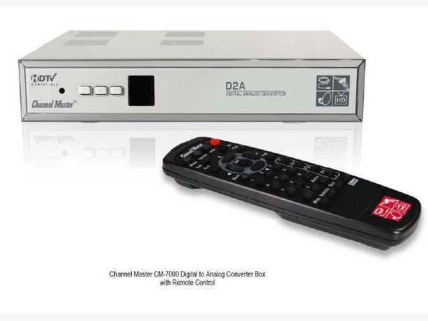 Channel Master CM 7000 ATSC Digital to Analog Converter Box