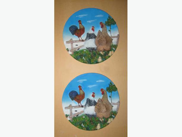 2+1 Solid Ceramic Decor Items