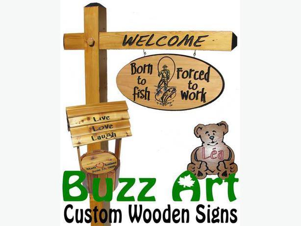 Cottage Signs - Buzz Art