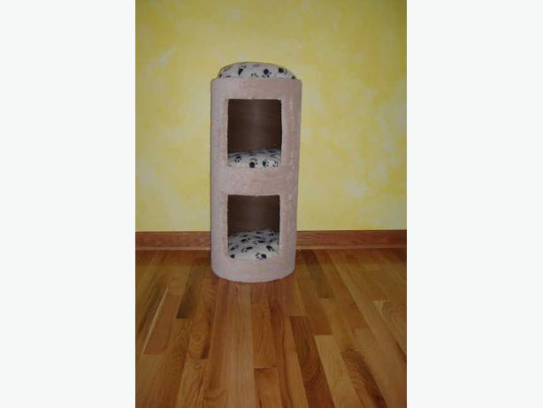 Brand new double-deck cat condos