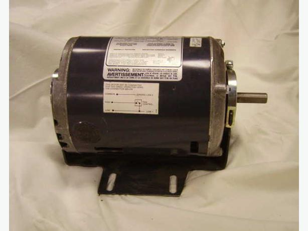 Electric motor 1 3 hp two speed new edmonton edmonton for Two speed electric motor