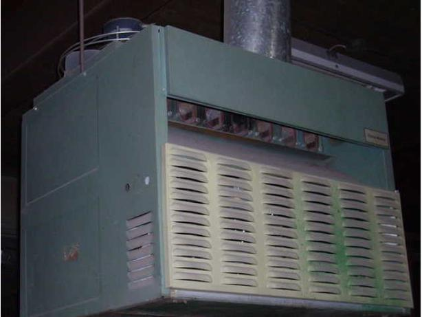 UNIT HEATER 200,000 B.T.U. OUTPUT