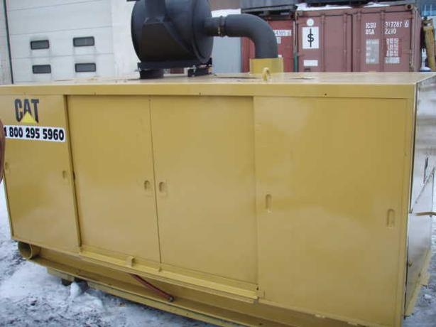 CAT GENERATOR model 3306  600volt 125 kva ENCLOSED