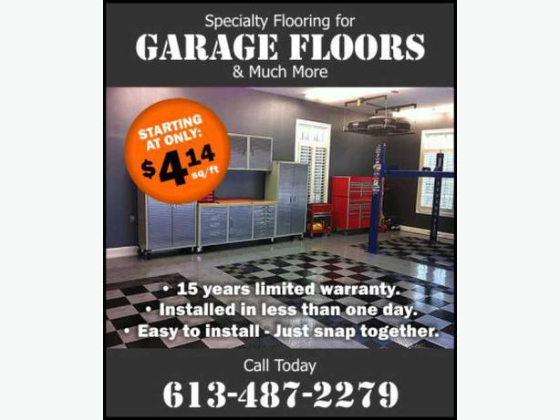 Showroom - GARAGE FLOORS - Makeover