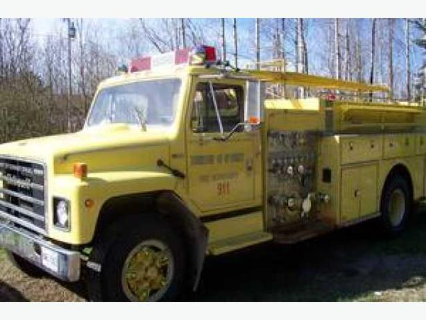 Fire Truck Thibault - 1980 International