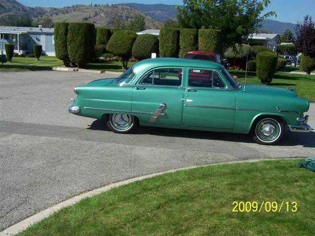 1953 ford customline v8 penticton okanagan for 1953 ford customline 4 door