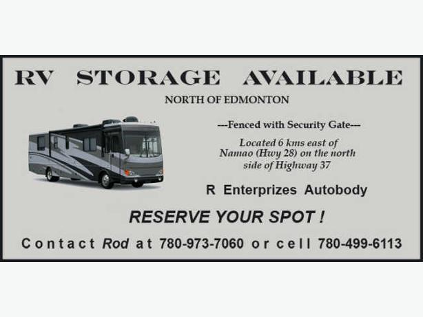 Secure storage available in North Edmonton