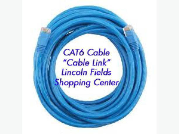 New CAT6 Ethernet Cable 25FT at Local Store