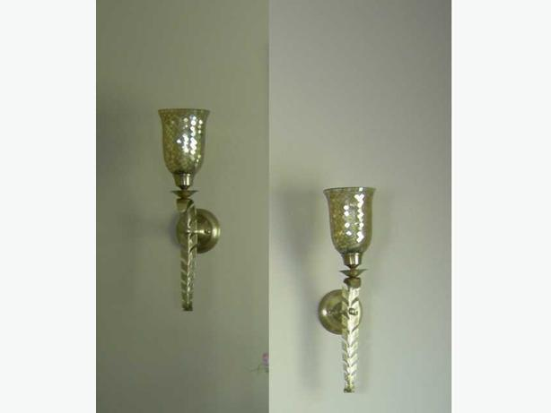 Two  BOMBAY COMPANY Wall Sconces
