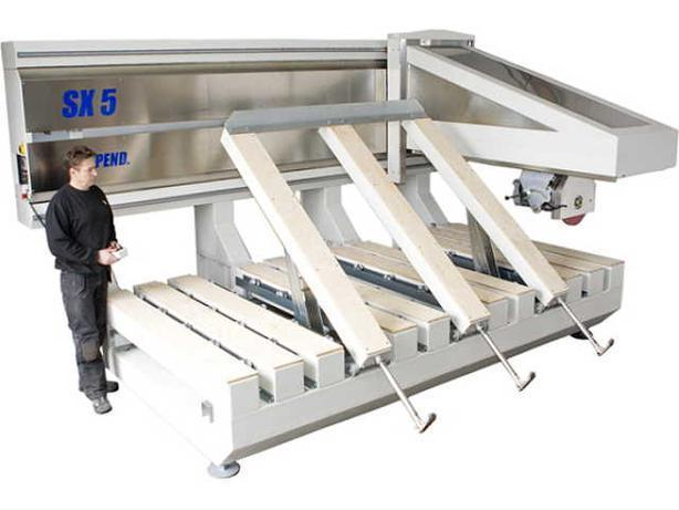 Scandinvent SX5 - 5-axis fully automated CNC bridge saw