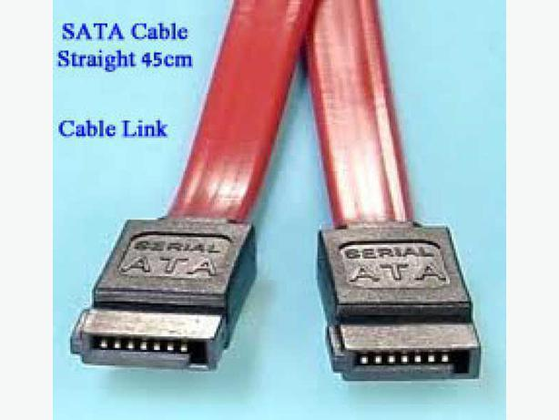 New SATA Cable (Straight connector, 45cm)