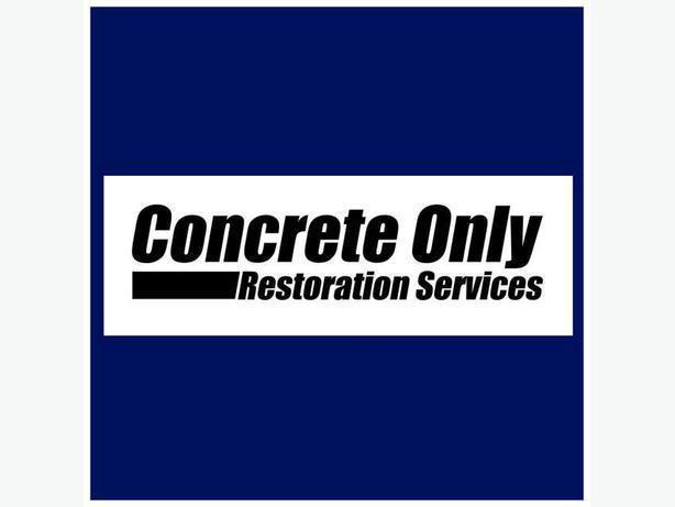 Concrete Only Restoration Services