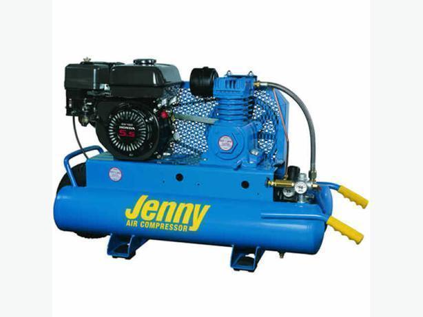 Jenny Gas Driven Portable with 5.5 Hp Honda Engine and Emglo Pump