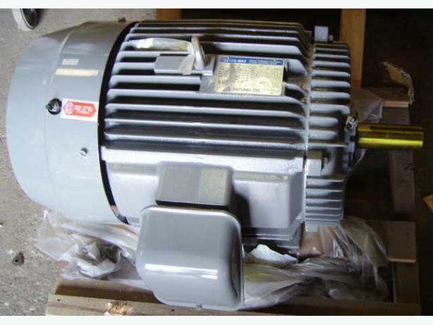 30 H.P. 1175 RPM MOTOR 208 - 230 / 460 vac**NEW**