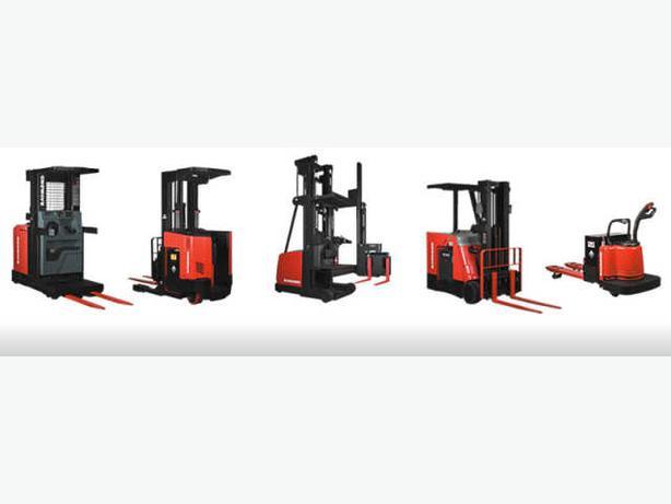 Rebuilt Raymond & BT Forklifts!