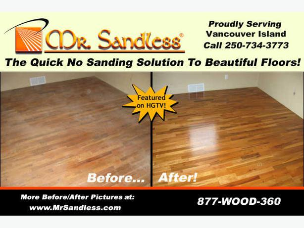 Mr Sandless, Wood floor Refinishing