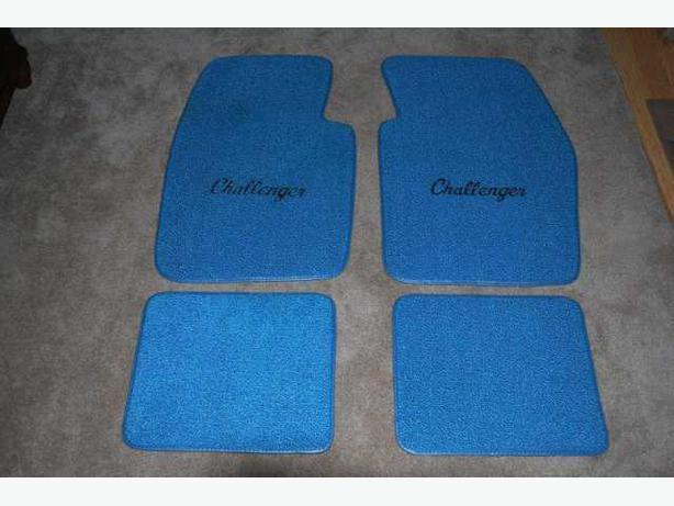 1970 to 1974 Challenger Car Mats