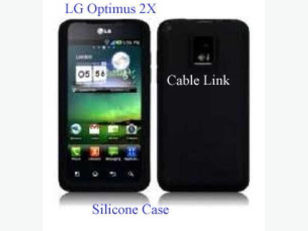 New Flexible Protective Case for LG Optimus 2X