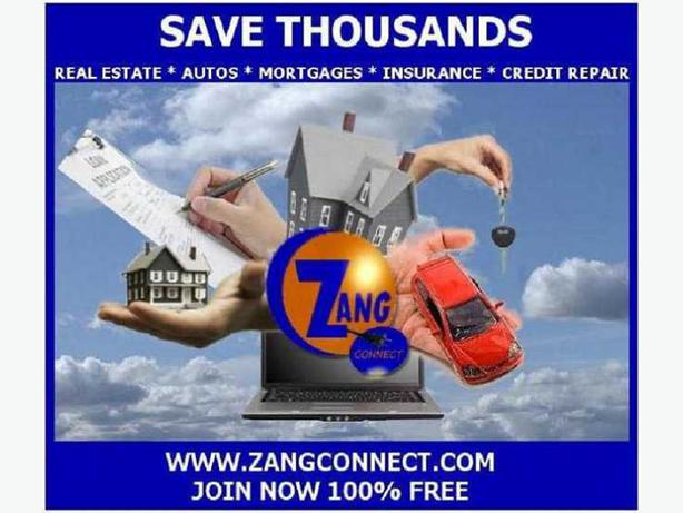Save Big On Your Next Home and Mortgage by Using Zang Connect
