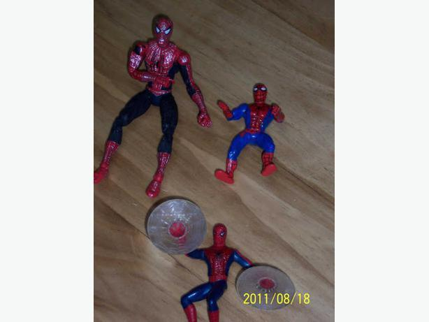 spider man - (2 figurines)  -  CASSELMAN