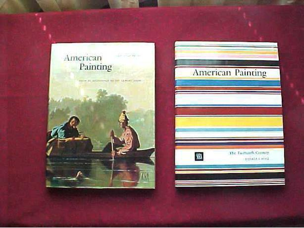 AMERICAN PAINTING    2 VOLUME BOXED SET by BARBARA ROSE