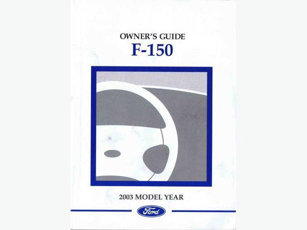 Ford F  Owners Manual Pdf Car Repair Manuals