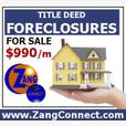 Foreclosed Homes, Own or Rent To Own, Great Deals!