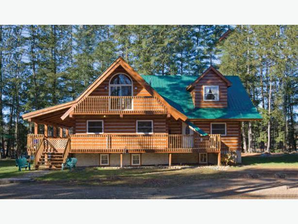 Affordable Log Homes Cabins Cottages Outside Comox