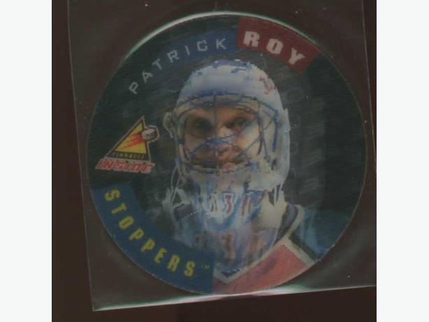 Patrick Roy 97/98 Pinnacle Inside Stoppers #1 Colorado Avalanche