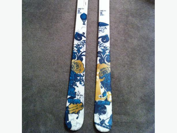 **brand new**Salomon Lady 177 - women's skis