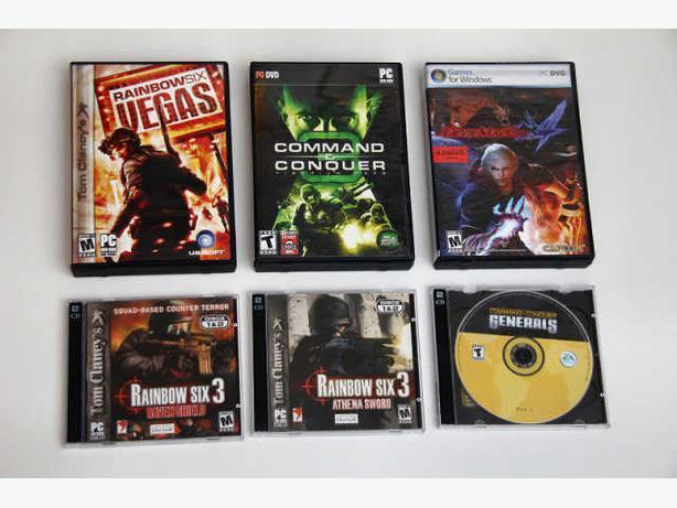PC CD-ROM DVD-ROM Games for $10 each