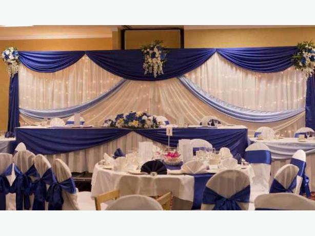 Wedding Room Decorations North East : Affordable wedding decorations service rentals north