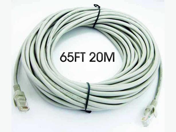 New 65FT (20meter) CAT5 RJ45 Ethernet Network LAN Cable