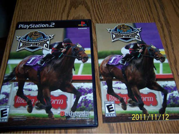 WORLD THOROUGHBRED - PLAYSTATION 2  -