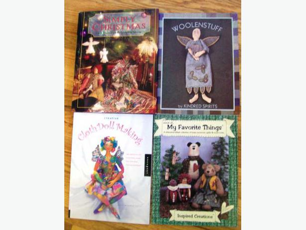 Eight Doll-making Books