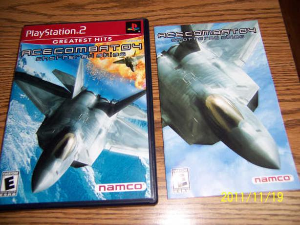 ACE COMBAT 04 SHATTERED SKIES - PS2  -  CASSELMAN
