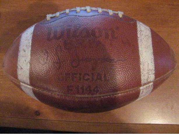 Official NFL Wilson OJ Simpson Football