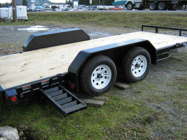 New Load Trail Car Hauler Flat Deck.
